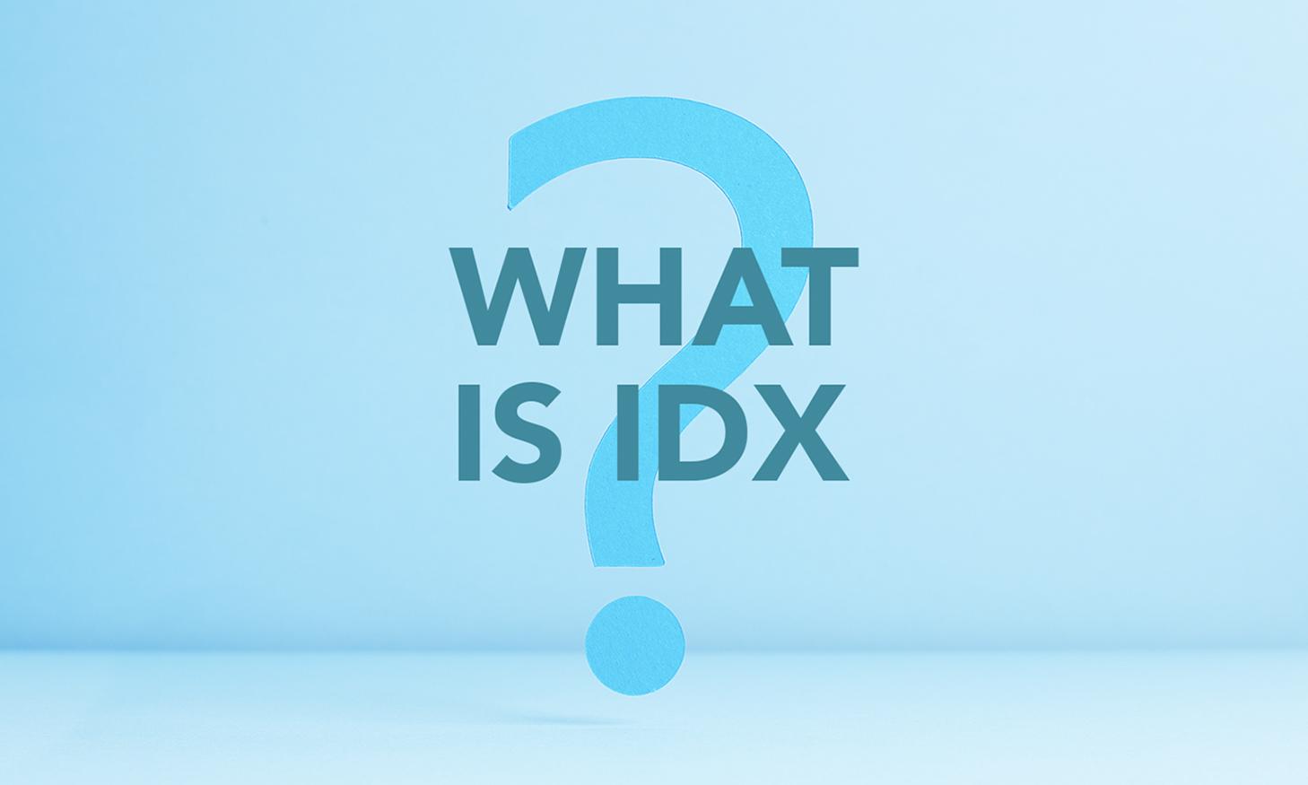WHAT IS IDX