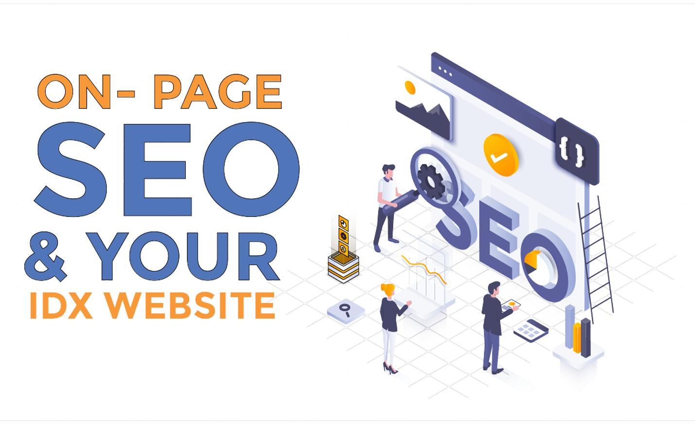 on page seo for real estate idx websites