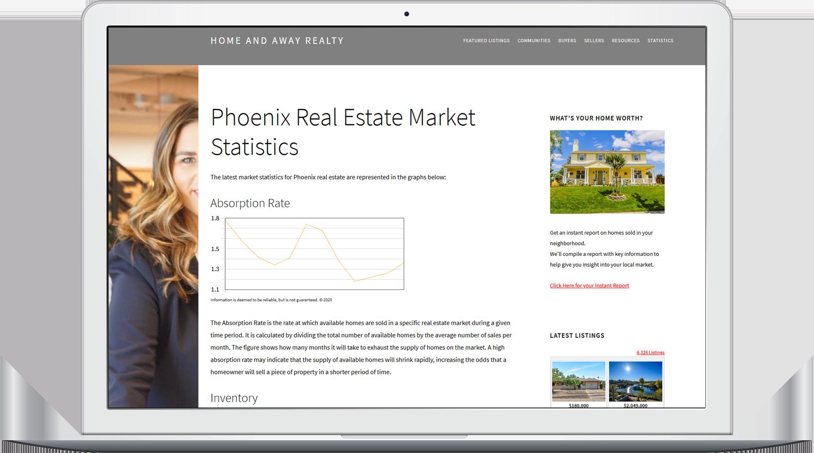 market stats widgets