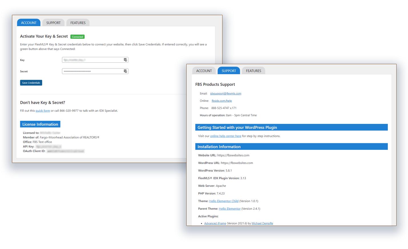 Flexmls IDX WordPress Plugin Update v3.13 Redesigned Setup and Support areas